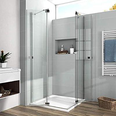 Mampara de ducha EMKE -3: Amazon.es: Bricolaje y herramientas