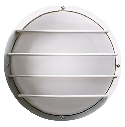 Round Cage Wall Fixture - 2 Light Cfl - 10In. - Round Cage Wall Fixture - (2) 9W Twin Tube Inc