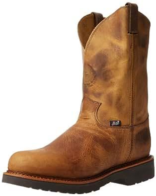 "Justin Original Work Boots U.S.A. Men's J-Max 11"" Pull-On Boot,Rugged Tan Gaucho,7 D US"