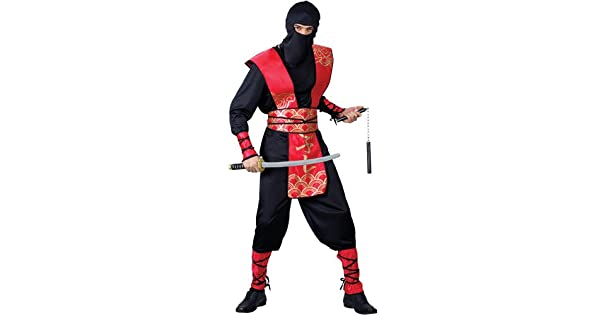 Amazon.com: Disfraz de ninja para hombre para soldado de ...