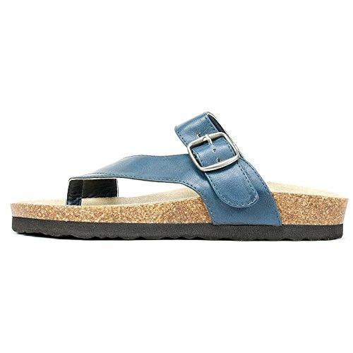 Rialto Shoes 'FARLEY' Women's Sandal, Navy - 8 M Photo #3