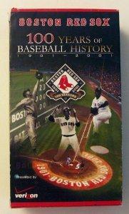 (Boston Red Sox: 100 Years of Baseball History [VHS])