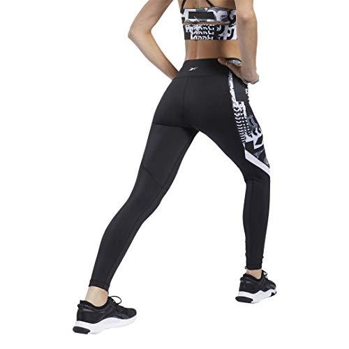 Reebok Workout Ready Meet You There Tight, Black, 1X16W
