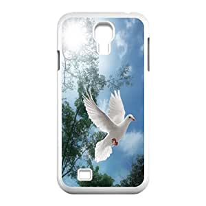 James-Bagg Phone case White dove pattern For SamSung Galaxy S4 Case FHYY389739