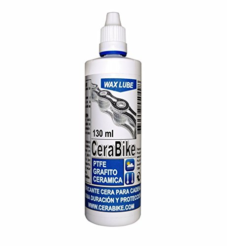 CeraBike WAXLUBE Kettingssmeermiddel op basis van waxen met PTFE (Polytetrafluorethyleen), grafiet en keramiek, 130 ml –