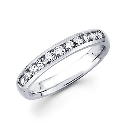 0.41 Ct Diamond Band - 7