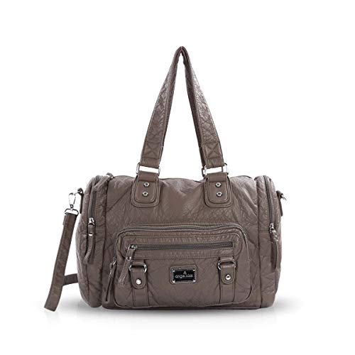 multi Totes ple bag pockets Women large NICOLE Gray bag hand amp; shoulder Hobo DORIS bag x8nwH7Pq