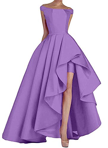 Prom Dresses Long High Low Women