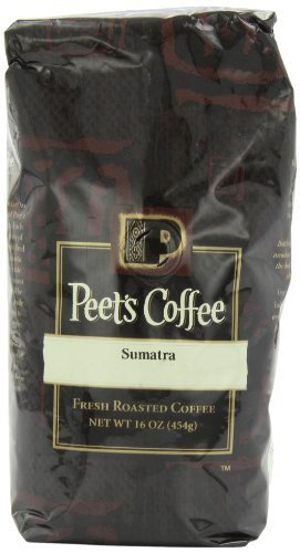 Peet's Coffee & Tea Sumatra Ground Coffee, 16-Ounce Bags (Pack of 2) by Peet's Coffee