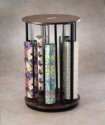 Amazon Com Suzy Rack Vertical Revolving Wrapping Paper Dispenser 37 1 2 X 24 Health Personal Care