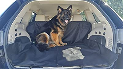Pet Back Seat Cover - For SUV's Trucks & Cars - Waterproof & Nonslip Material
