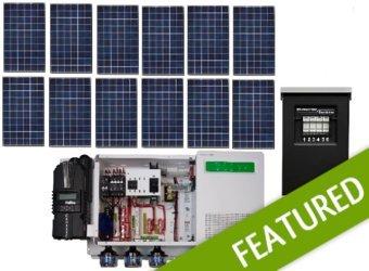 Off-grid 3.6kw Residential Solar Power System - Base Kit