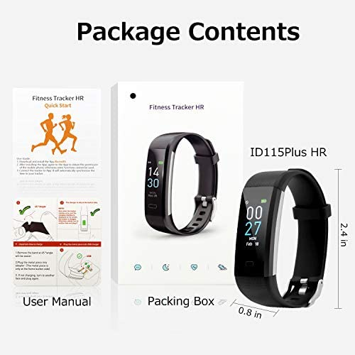 Fitness Tracker with Blood Pressure Heart Rate Sleep Monitor Temperature Monitor, Activity Tracker Smart Watch Pedometer Step Counter for iPhone & Android Phones for Kids Man Women 7