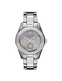 Armani Ceramica Silver Watch AR1463