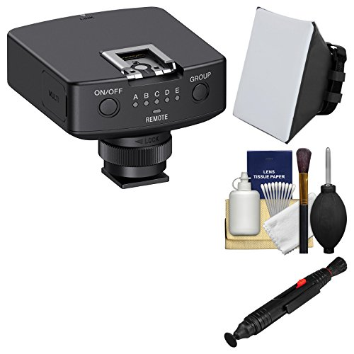 Sony FA-WRR1 Wireless Radio Receiver with Soft Box + Lens Cleaning Brush Kit by Sony