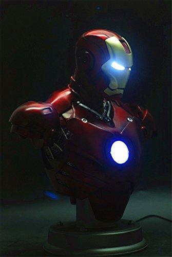 Gmasking Iron Man MK3 Lighting Bust Statue 1:2 Scale Replica (Gmasking Iron Man compare prices)