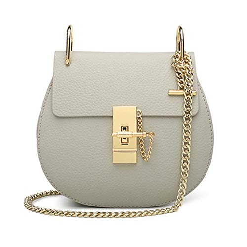 Normia Rita Punk Style U-Ring Flap Bag Chain Bag Crossbody Envelope Bag Clutch Mini Bags For Girls - - Medium Flap Handbag