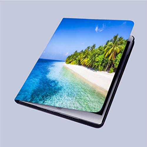 """Compatible with 3D Printed iPad 9.7 Case,Palm-Beach Lightweight Anti-Scratch Shell Auto Sleep/Wake,Back Protector Cover iPad 9.7"""" air/air 2 from touwanscolomi"""