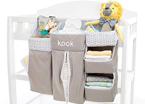 kook Nursery Organizer and Diaper Caddy I Store Baby Essenti