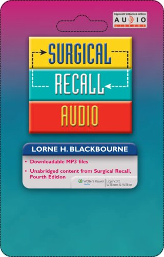 Surgical Recall Audio (Recall Series) by Lippincott Williams & Wilkins