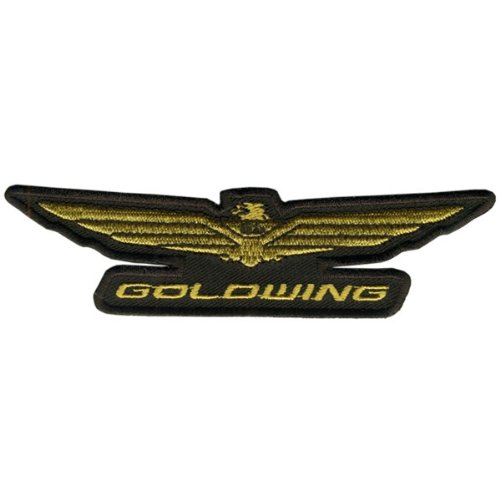 Hot Leathers Honda Goldwing Patch (5 inch width x 1 inch height)