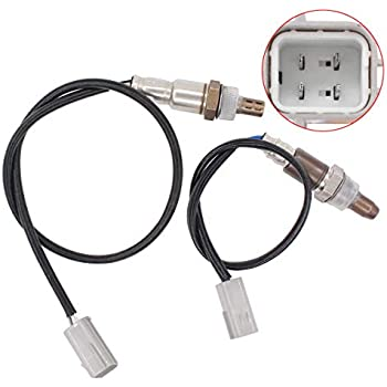 NewYall Pack of 2 Upstream Sensor #1 /& Downstream Sensor #2 Air Fuel Ratio O2 Oxygen Sensor