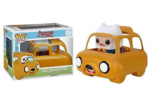 Funko Pop Rides: Adventure Time-Jake Car & Finn Action Figure