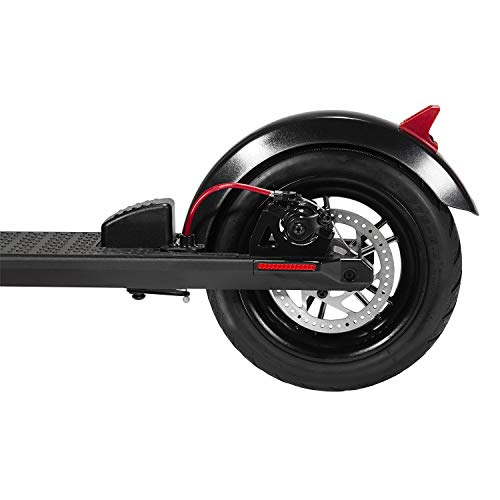 GOTRAX GXL Commuting Electric Scooter - 8.5' Air Filled Tires - 15.5MPH & up to 12mile Range (Black)
