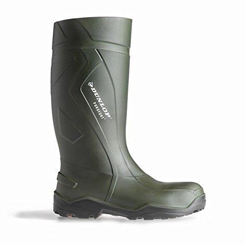 Bottes de sécurité Dunlop Purofort+ C762933 pour femme Vert MCCu8hQsK2