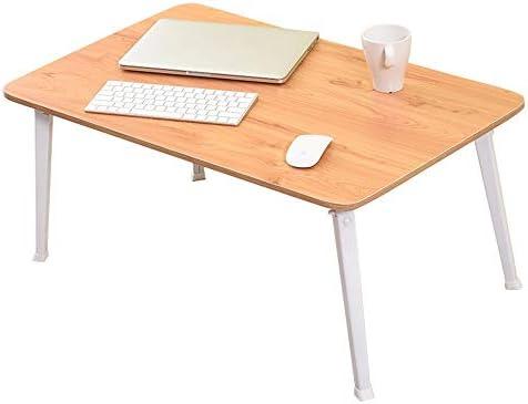 ACZZ Mesa de cama plegable para juegos, escritorio para ...