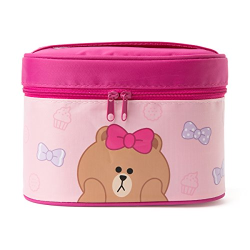 LINE FRIENDS Choco Thermal Lunch Box One Size Pink
