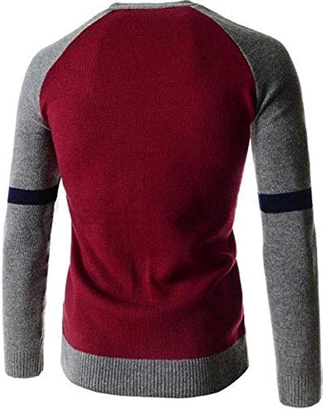 Męskie Strickjacke Slim Neck Einfacher Stil Sleeve V Fit Long Button Down Strickmantel Cardigan Knit Sweater Mantel Coat: Odzież