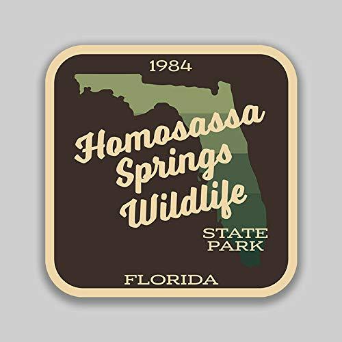 JB Print Homosassa Springs Wildlife State Park Sticker Explore Wanderlust Camping Florida Vinyl Decal Sticker Car Waterproof Car Decal Bumper Sticker 5