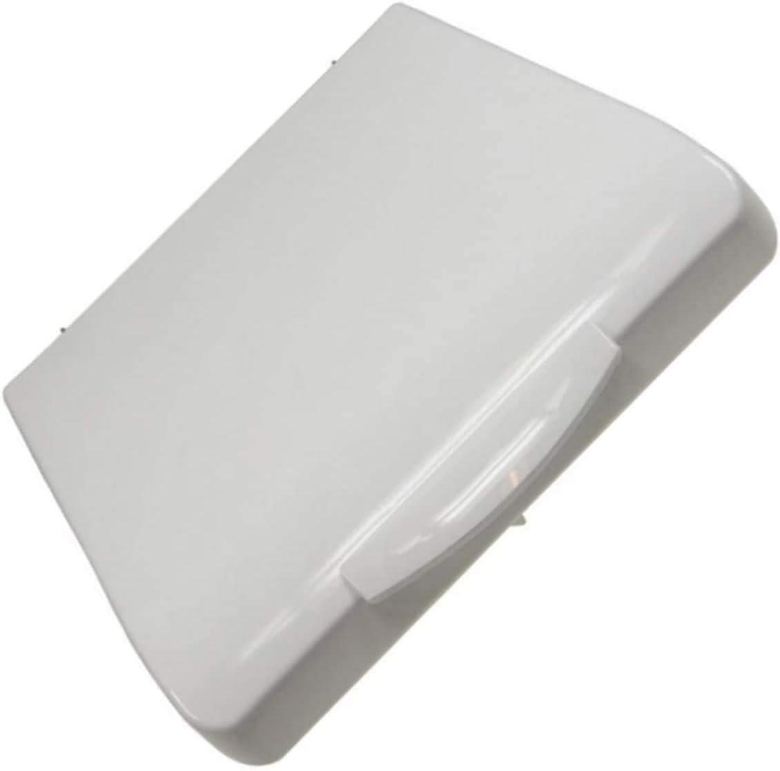 Tapa completa blanca para lavadora Zanussi, Faure, Bellavita, Curtiss, Essentiel B, Listo, Saba, Selecline, Highone, Aya.