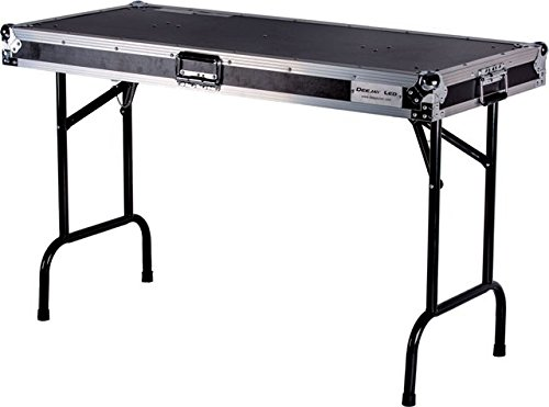 DEEJAY LED TBHTABLE48 Fly Drive Case Universal Fold Out DJ Table CHECK DESCRIPTION