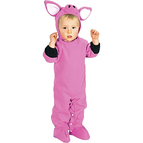 Pig Infant Costumes - Rubie's Costume Co Baby-Girls Pig Animal Costume