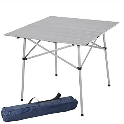Superieur Best Choice Products Aluminum Roll Up Table Folding Camping Outdoor Indoor  Picnic Table Heavy Duty