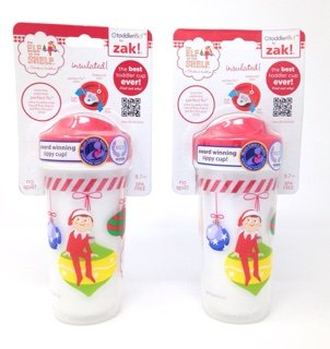 (Zak Designs Elf On the Shelf Toddlerific Sippy Cup Bundle - Pack of)