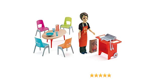 Doll House Barbecue & Accessories