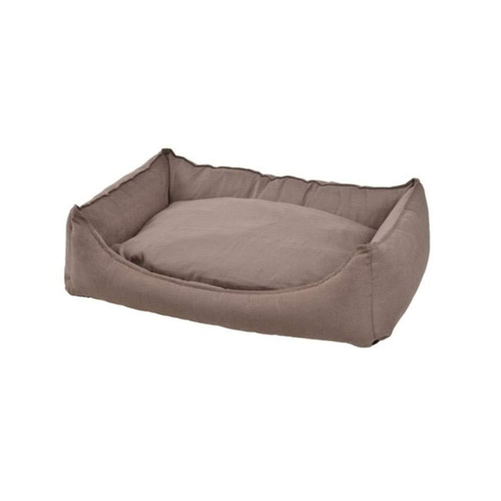 Goen Burake ペット ペットベッド 猫ソファ ワンチャン 犬 ベッド ベッドクッション ペットハウス 猫小屋 (Color : ブラウン, サイズ : L) B07Q2SHL7H ブラウン Medium Medium|ブラウン