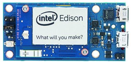 Picture of an Intel Edison Breakout Board Kit 713665332354