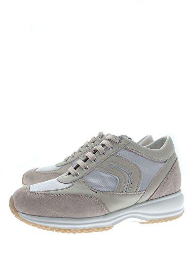 Geox Femme Basket skin Grey D8356RAS54 Ly rwTqE1rF