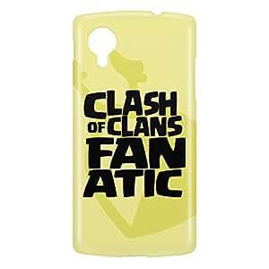 Loud Universe Nexus 5 Clash Of Clans Fanatic Print 3D Wrap Around Case - Multi Color