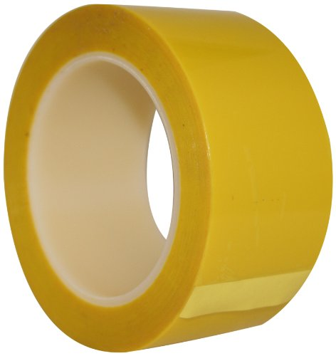 Maxi 750 Polyester/Silicone High Performance Platers Tape Roll, 2.8 mil Thick, 72 yds Length, 4
