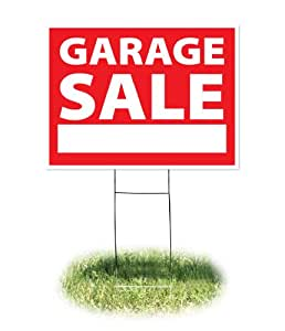 amazon com headline sign 4730 yard sign garage sale 18 inches by 24 inches business and