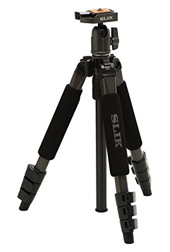 SLIK Sprint Mini II Tripod with SBH-100DQ Ball Head - Gun Metal Finish
