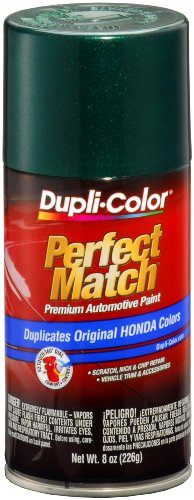 Dupli-Color EBHA09767 Clover Green Pearl Honda Perfect Match Automotive Paint - 8 oz. Aerosol (Honda Green Car)