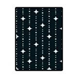 Christian Cross In Stars Custom Fleece Blanket 58'' x 80'' (Large)