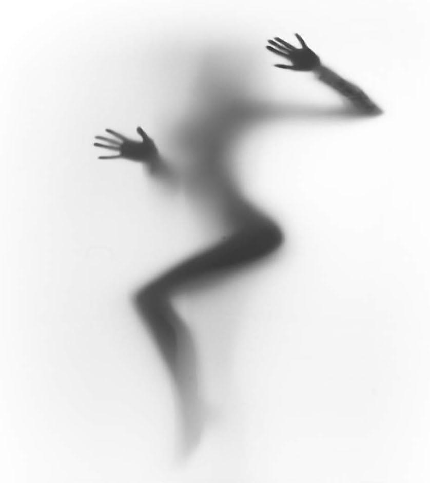 Geiqianjiumai Arte de Lienzo en Blanco y Negro Mujer Desnuda ...