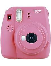Fujifilm Instax Mini 9 Camera Smoky White, Camera, flamingo roze